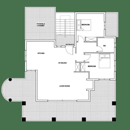 Building 1 Room 3 Sani Diamonds Aparthotel