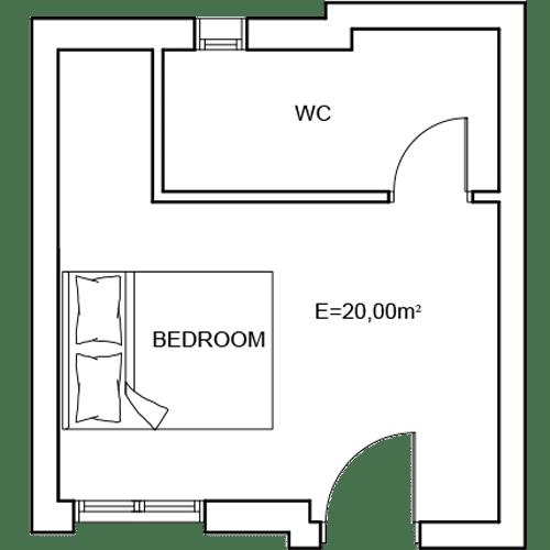 Building 4 Room 15 Sani Diamonds Aparthotel