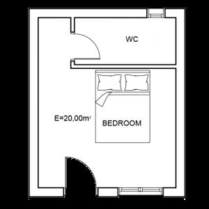 Building 4 Room 16 Sani Diamonds Aparthotel