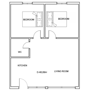 Building 5 Room 10 Sani Diamonds Aparthotel