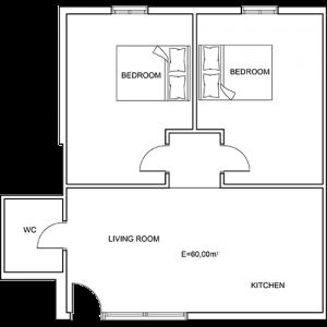 Building 5 Room 9 Sani Diamonds Aparthotel
