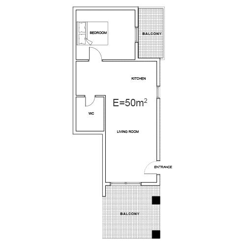 Building 1 Room 2 Sani Diamonds Aparthotel 2