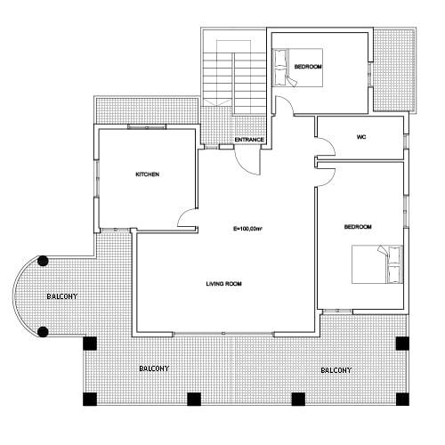 Building 1 Room 4 Sani Diamonds Aparthotel